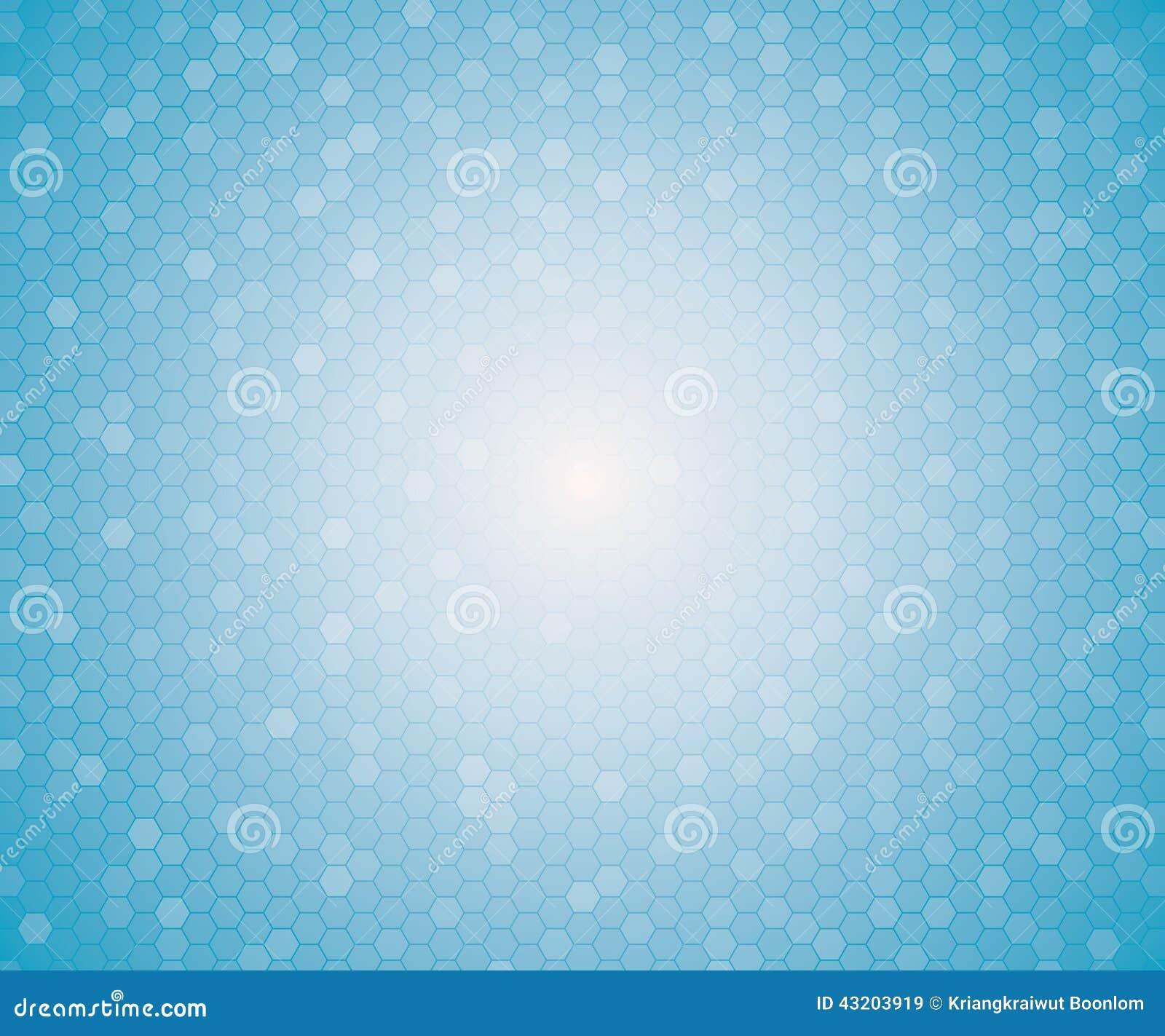 blue hexagonal pattern vector - photo #12