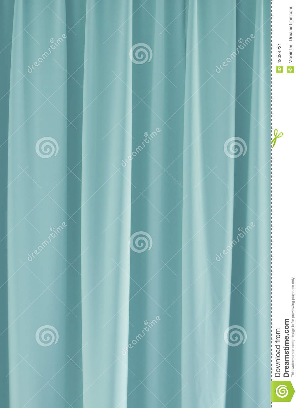 Blue curtain backdrop - Light Blue Curtain