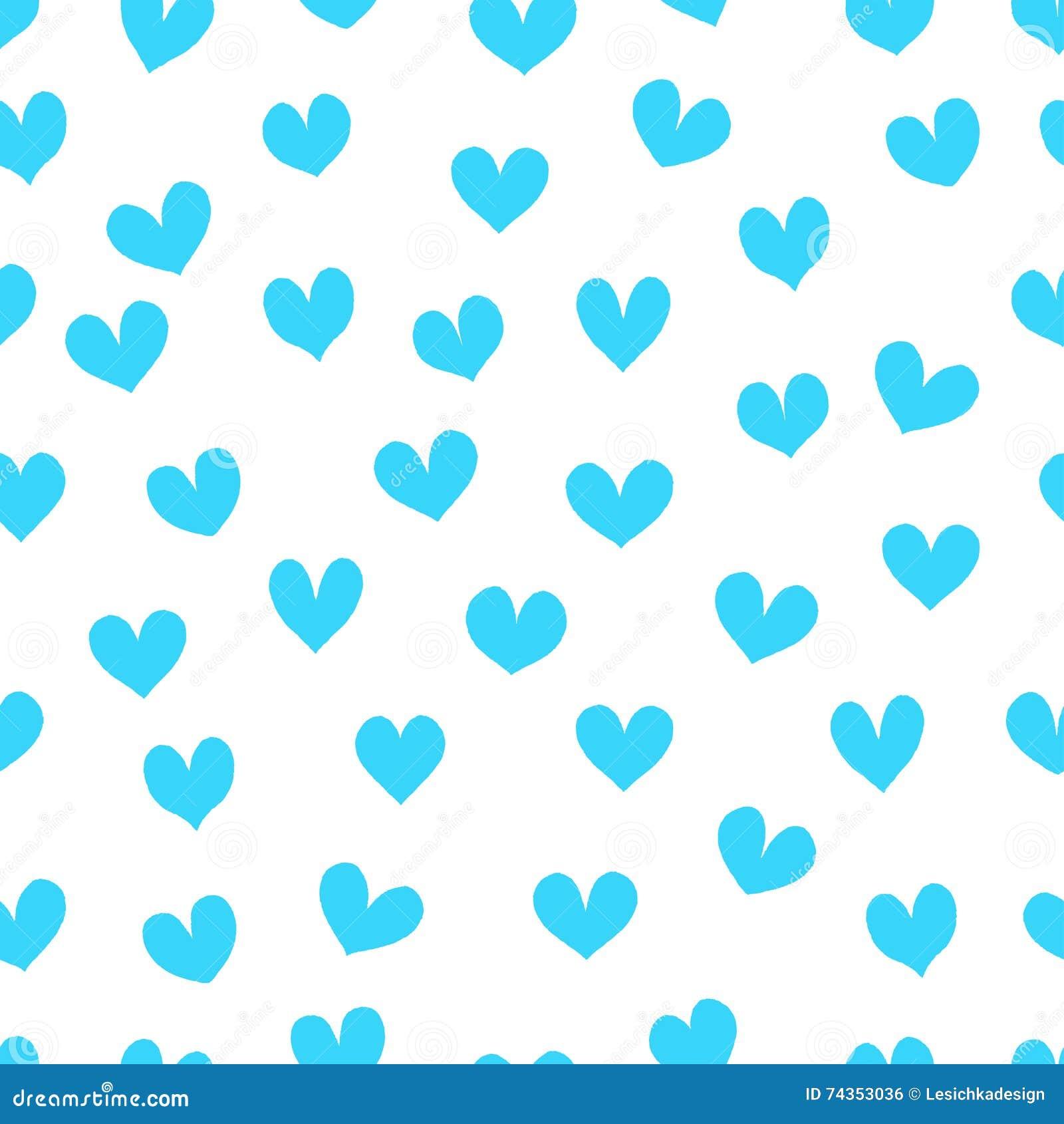 light blue heart background - photo #9