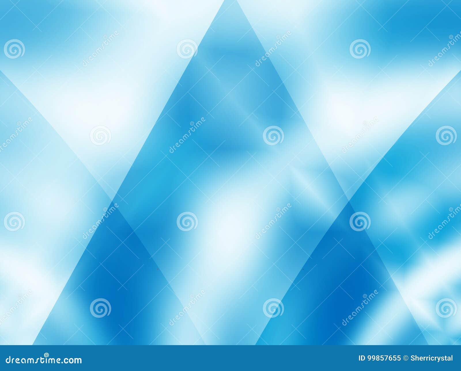 43c60b67 Light blue modern abstract fractal art. Shiny background illustration.  Download preview