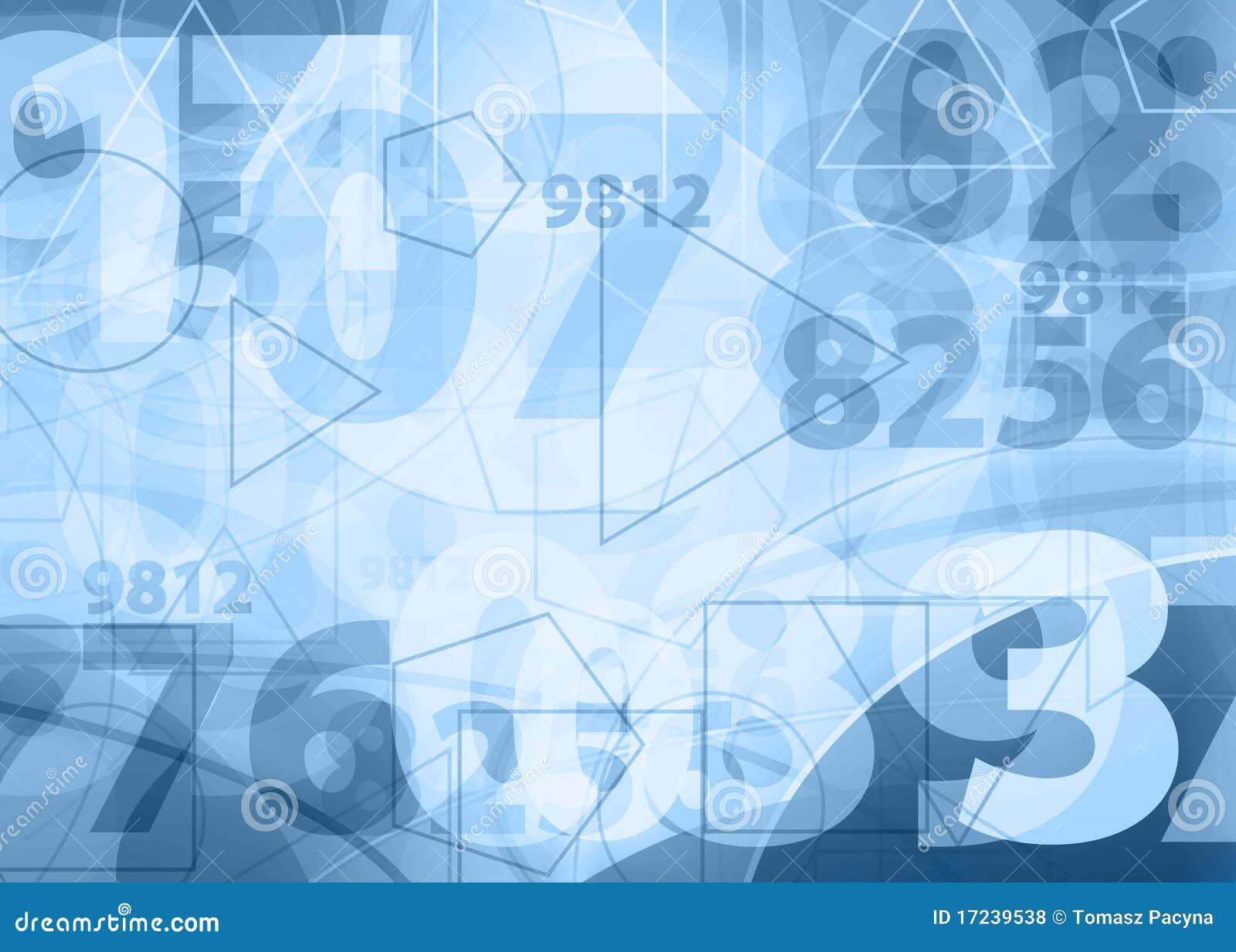 light blue numbers design stock illustration  illustration