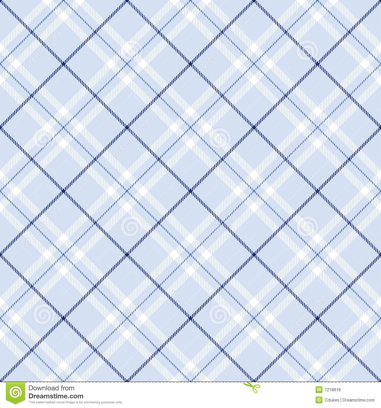 Light Blue Plaid Royalty Free Stock Image - Image: 7218916