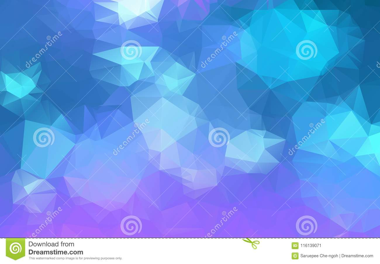 light blue purple low poly crystal background polygon design