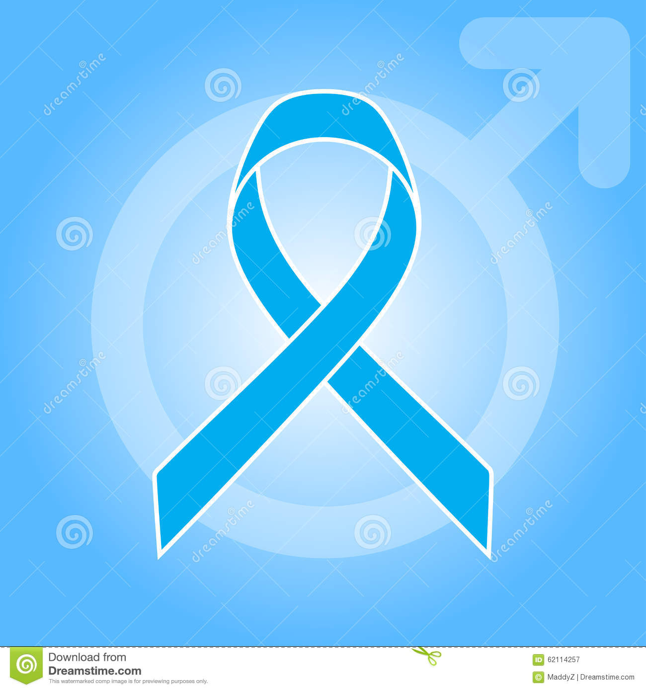 Light blue ribbon as symbol of prostate cancer awareness stock light blue ribbon as symbol of prostate cancer awareness buycottarizona Images