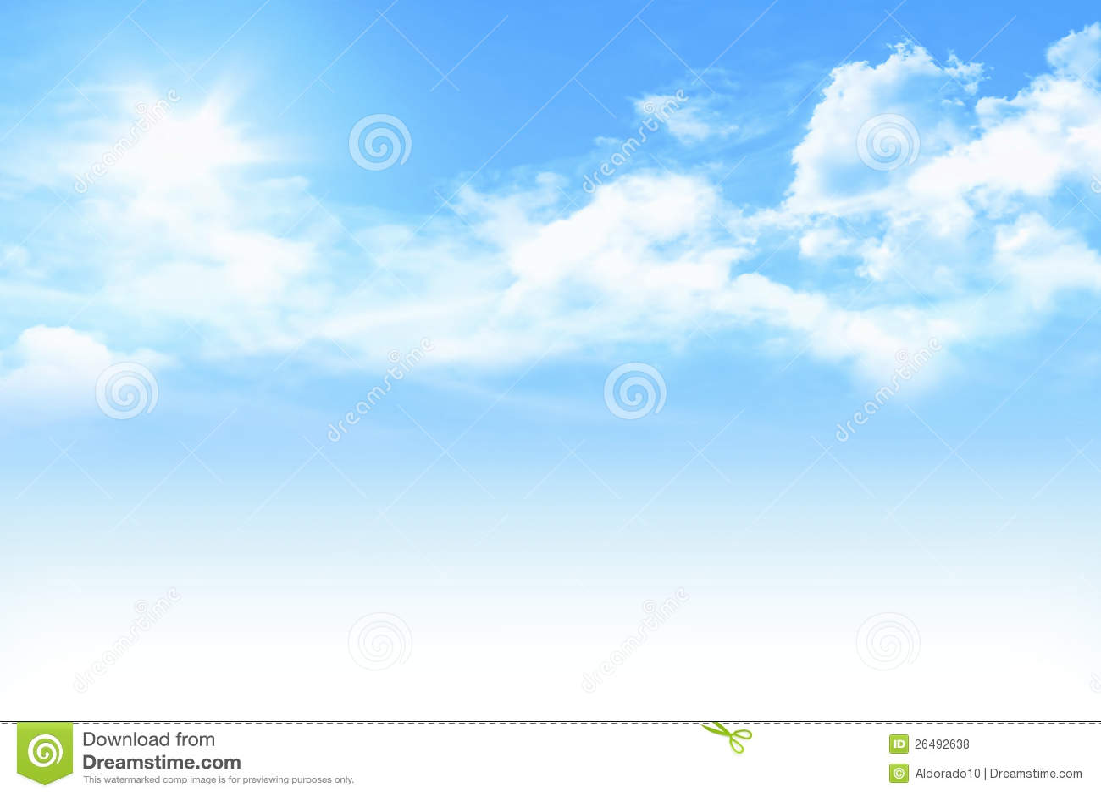 Light Blue Sky Royalty Free Stock Photos - Image: 26492638