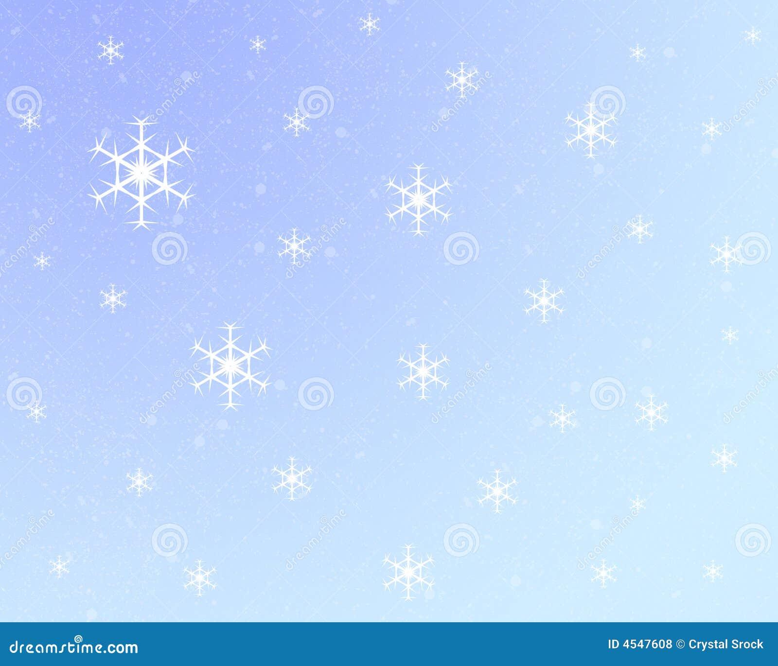 light blue snowflake background stock illustration image