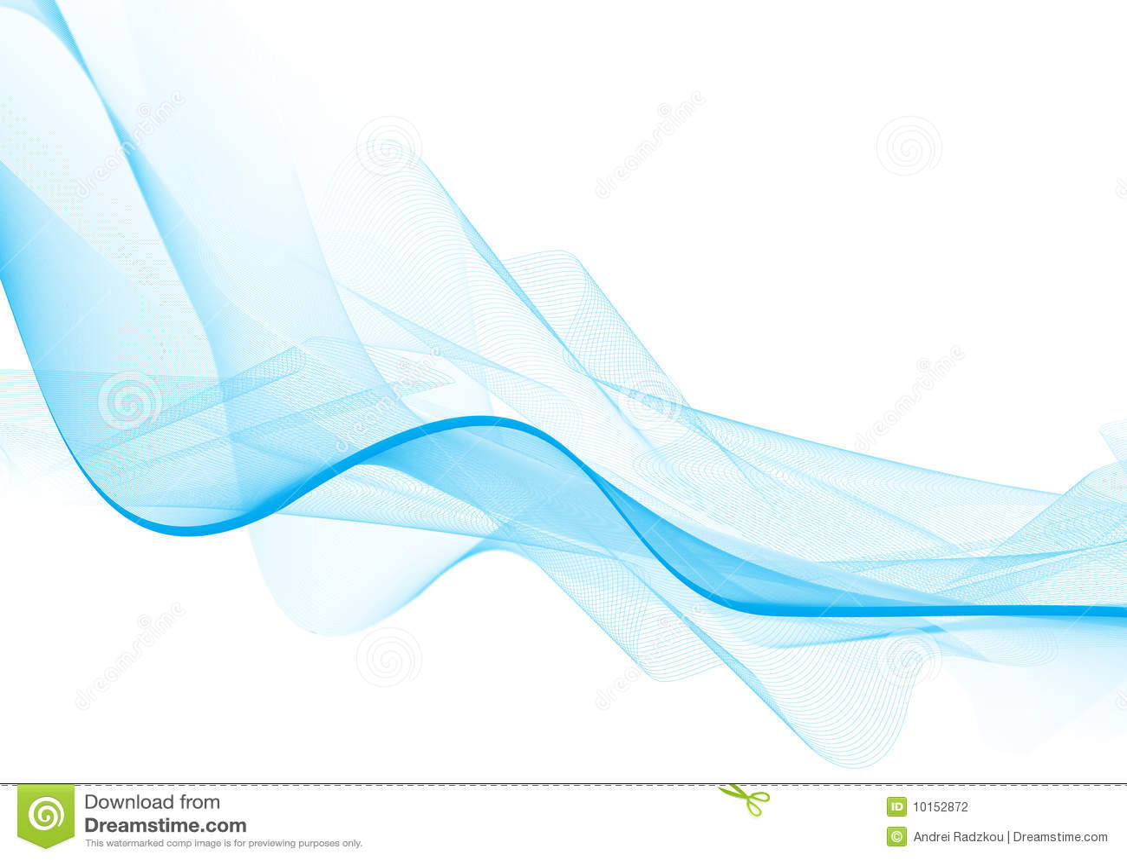 Light Blue Wave Stock Photography Image 10152872