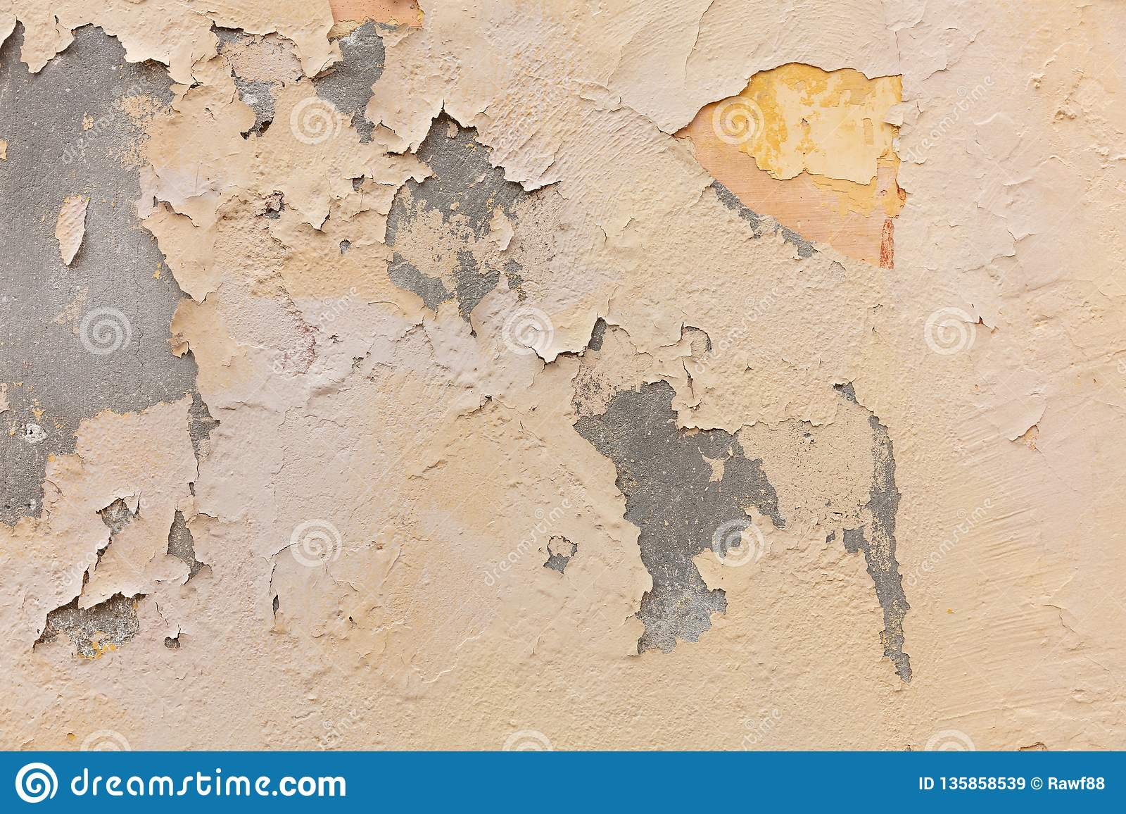 Light Brown Color, Painted Wall Texture Grunge Background ...