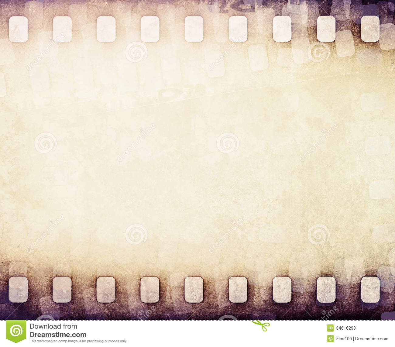 Light Brown Film Strip Background Stock Photos Image