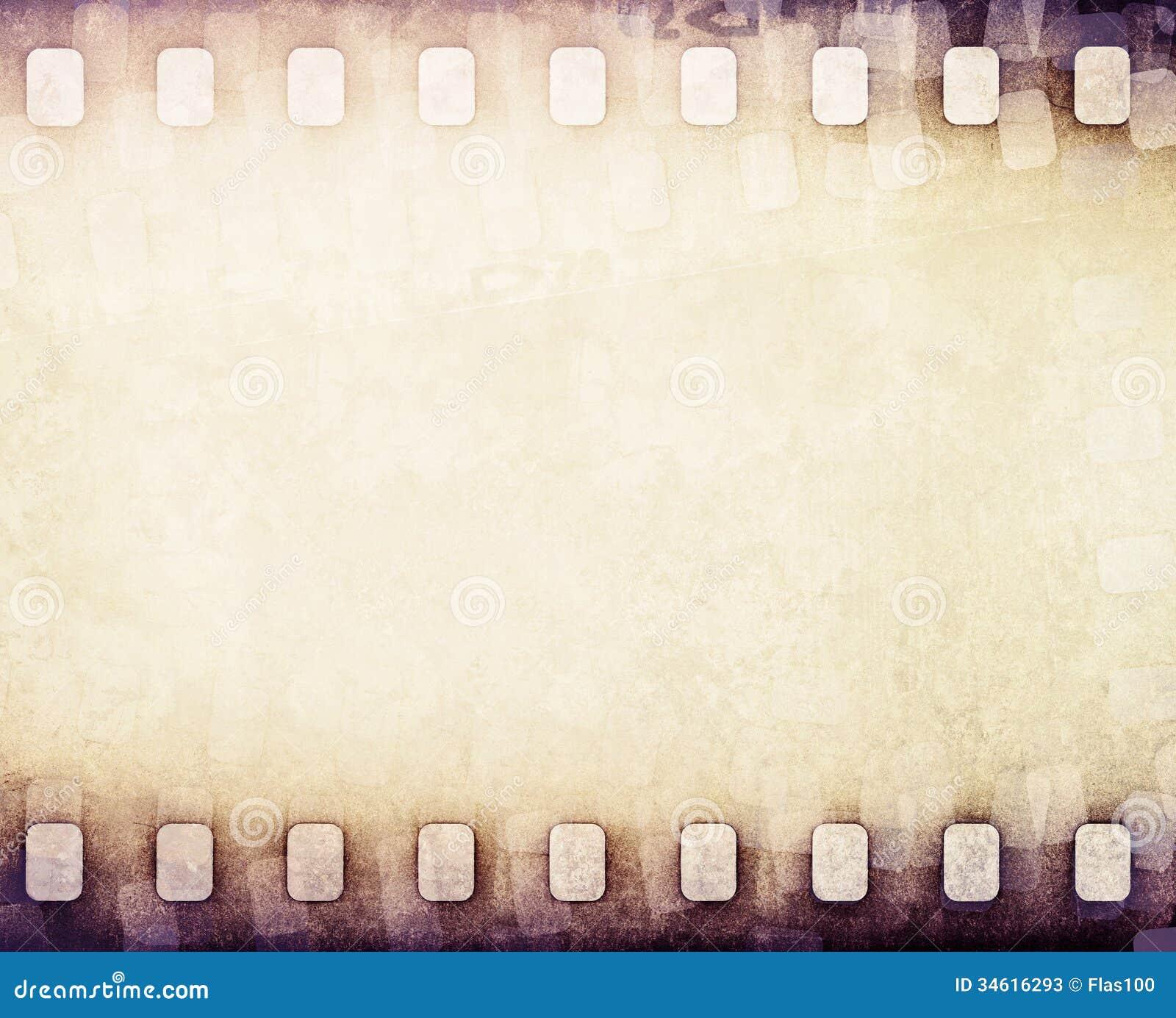 Light Brown Film Strip Background