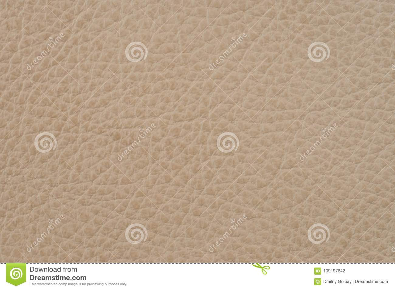Close Up Photo Of Brown Surface: Light Brown Leather Texture Surface. Close-up Of Natural
