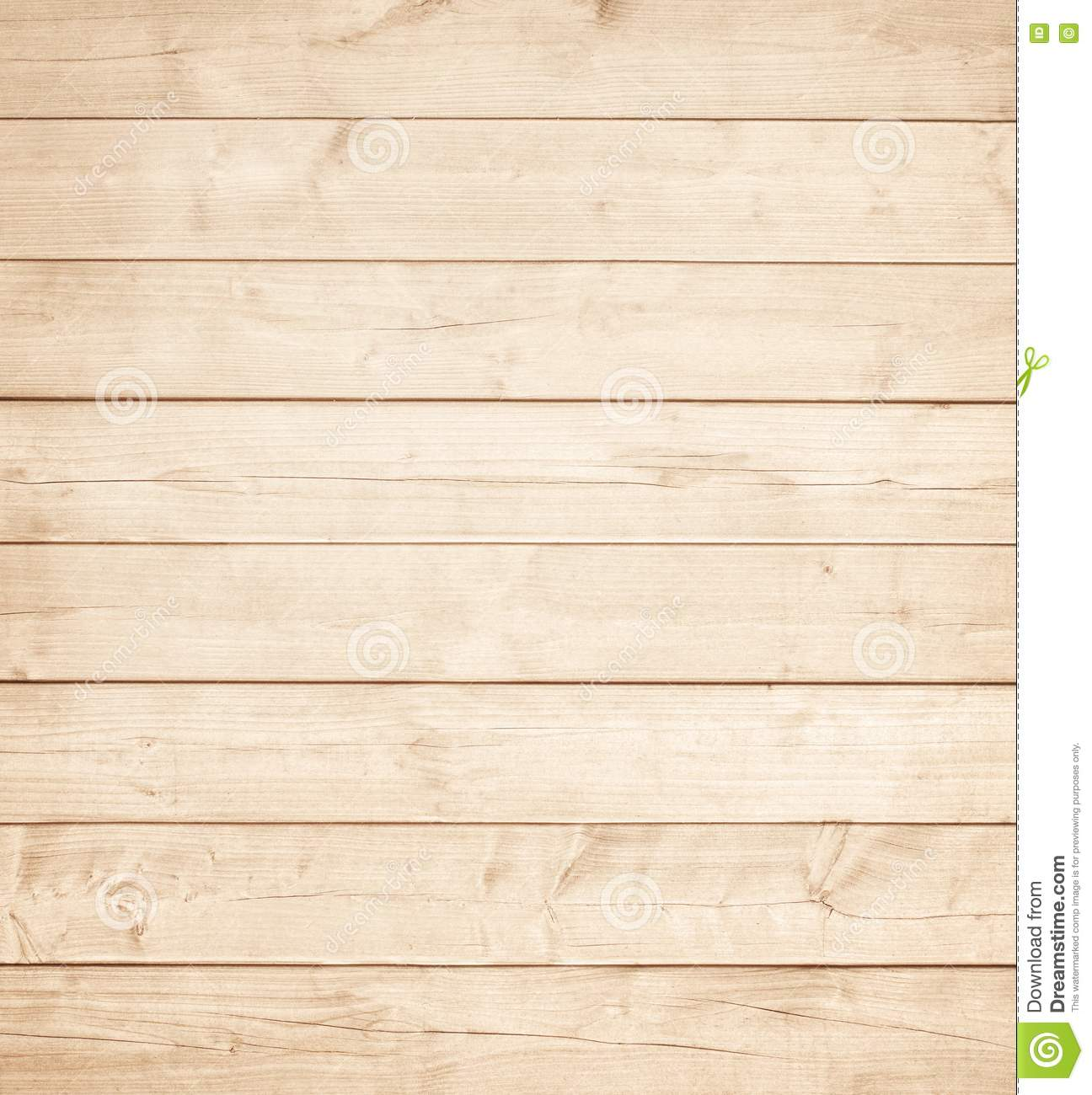 Light brown wooden planks wall table ceiling or floor