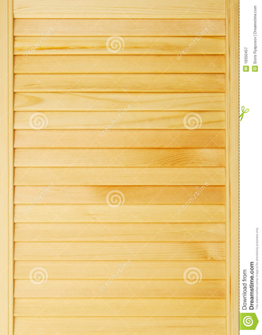 Brown Wooden Shutters : Light brown wooden shutters royalty free stock photography