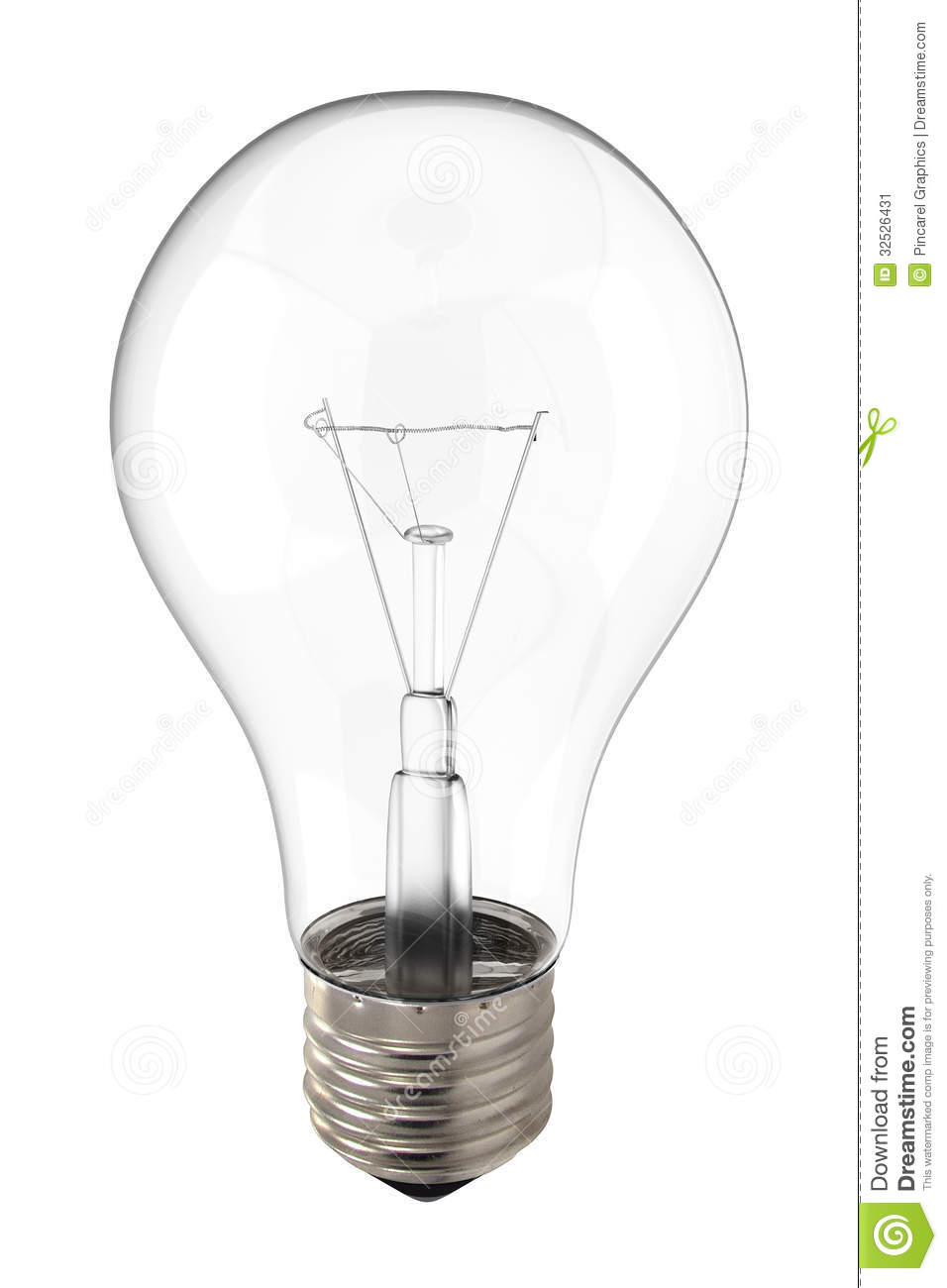 Light Bulb Stock Image Image Of Light Incandescent