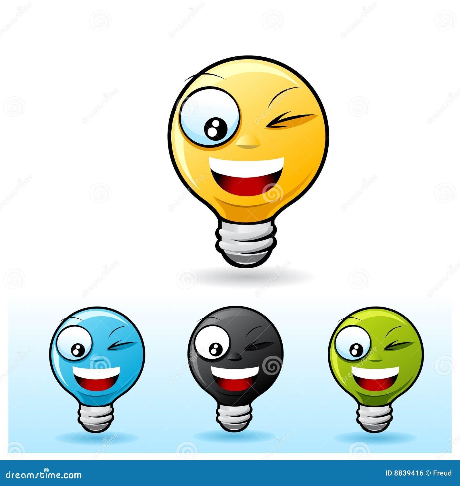 Light Bulb Character: Blinking Royalty Free Stock Image - Image ...:Light bulb character: Blinking,Lighting