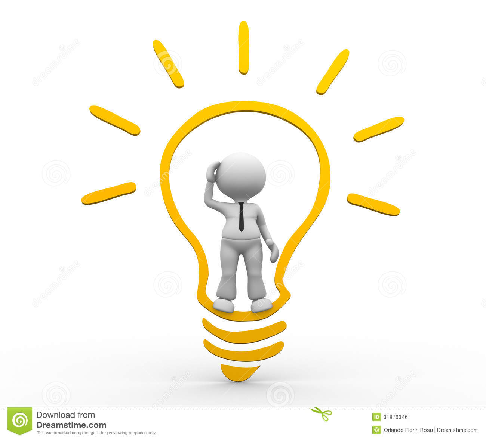 Light Bulb Royalty Free Stock Image - Image: 31876346