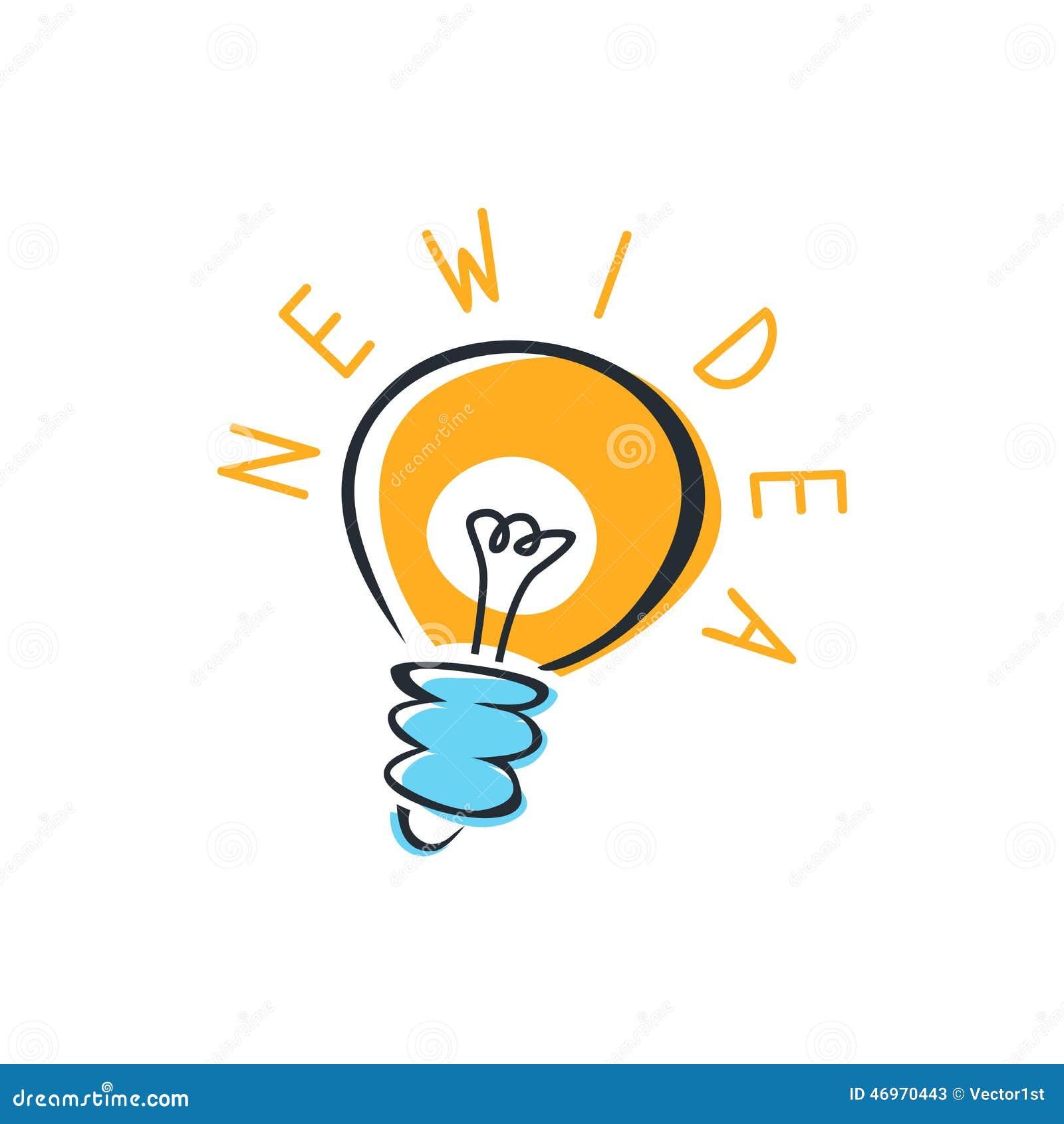 Light Bulb Idea Stock ...