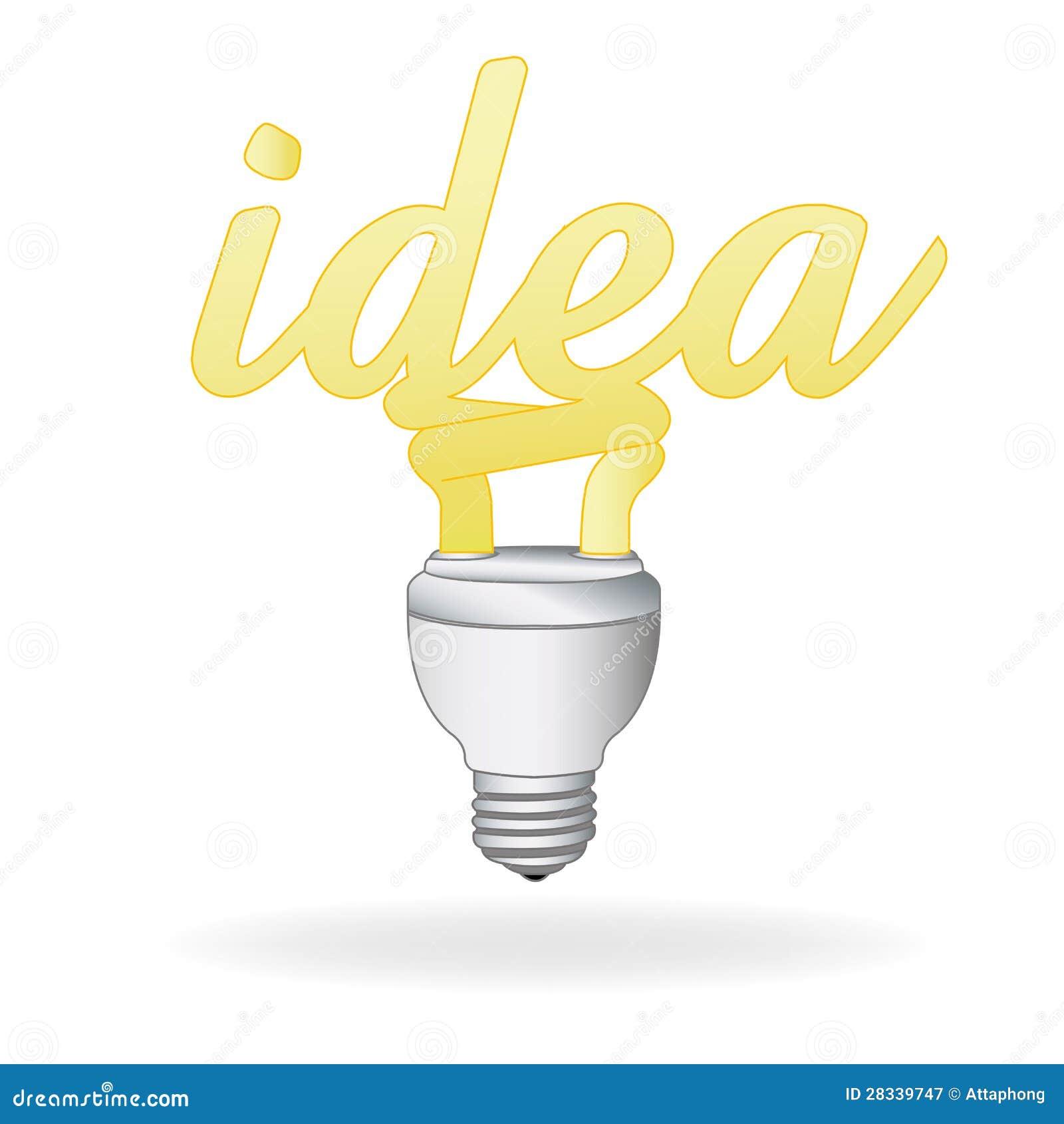 Light Bulb Idea Vector...