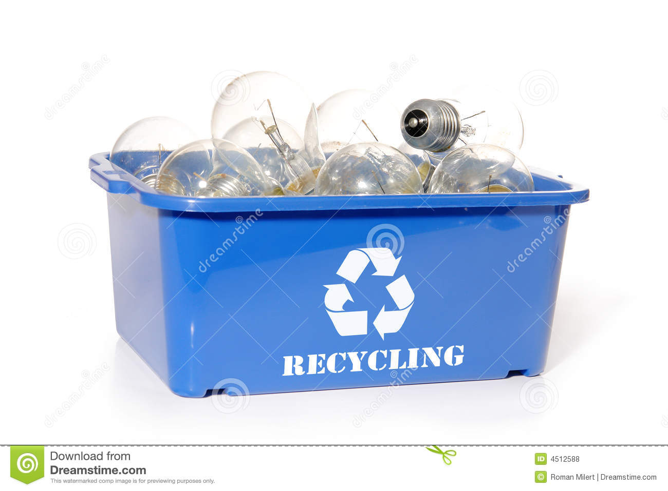 Light Bulb Recycling Royalty Free Stock Photos Image 4512588