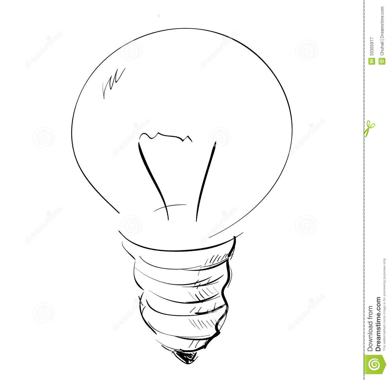 light bulb stock vector  image of element  light  electric
