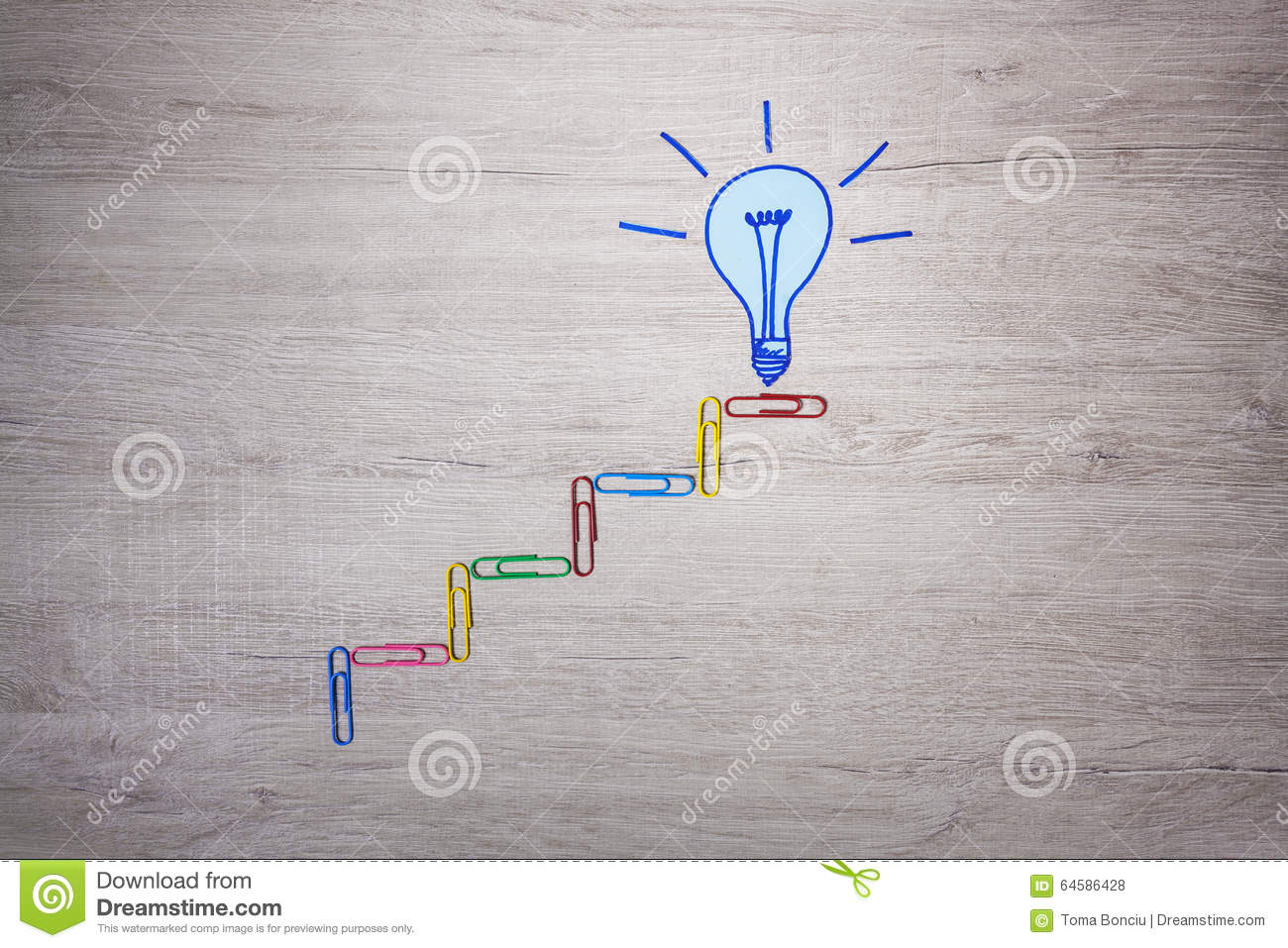 Stock symbol for staples choice image symbol and sign ideas light bulb symbol and colored staples on office desk stock photo royalty free stock photo buycottarizona biocorpaavc