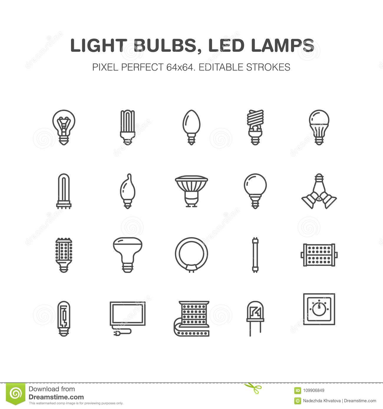 Diode lamp: types and description 44