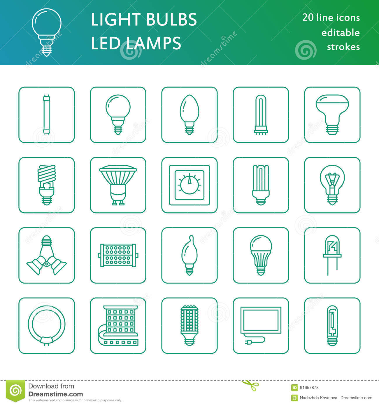 Diode lamp: types and description 31