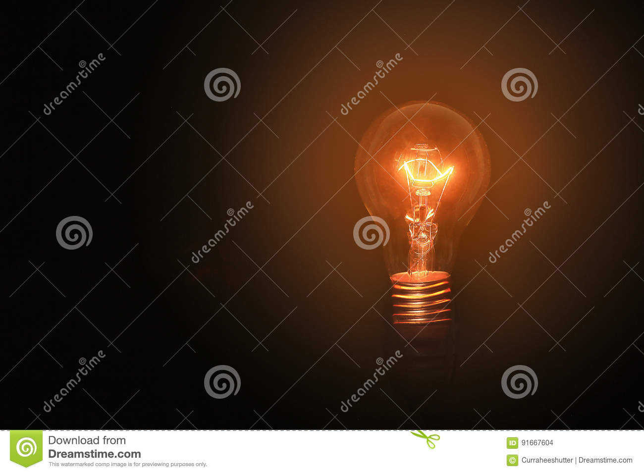 Enjoyable Light Bulbs Turn On On Black Background And No Wiring With Wiring Cloud Hisonuggs Outletorg