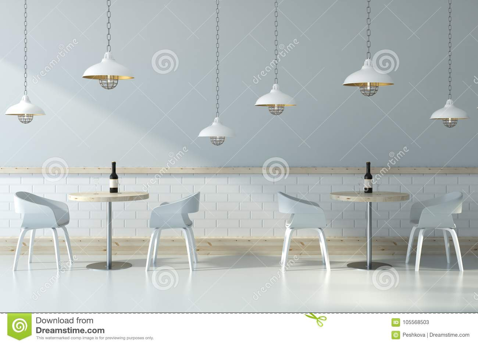 Light Cafe Interior