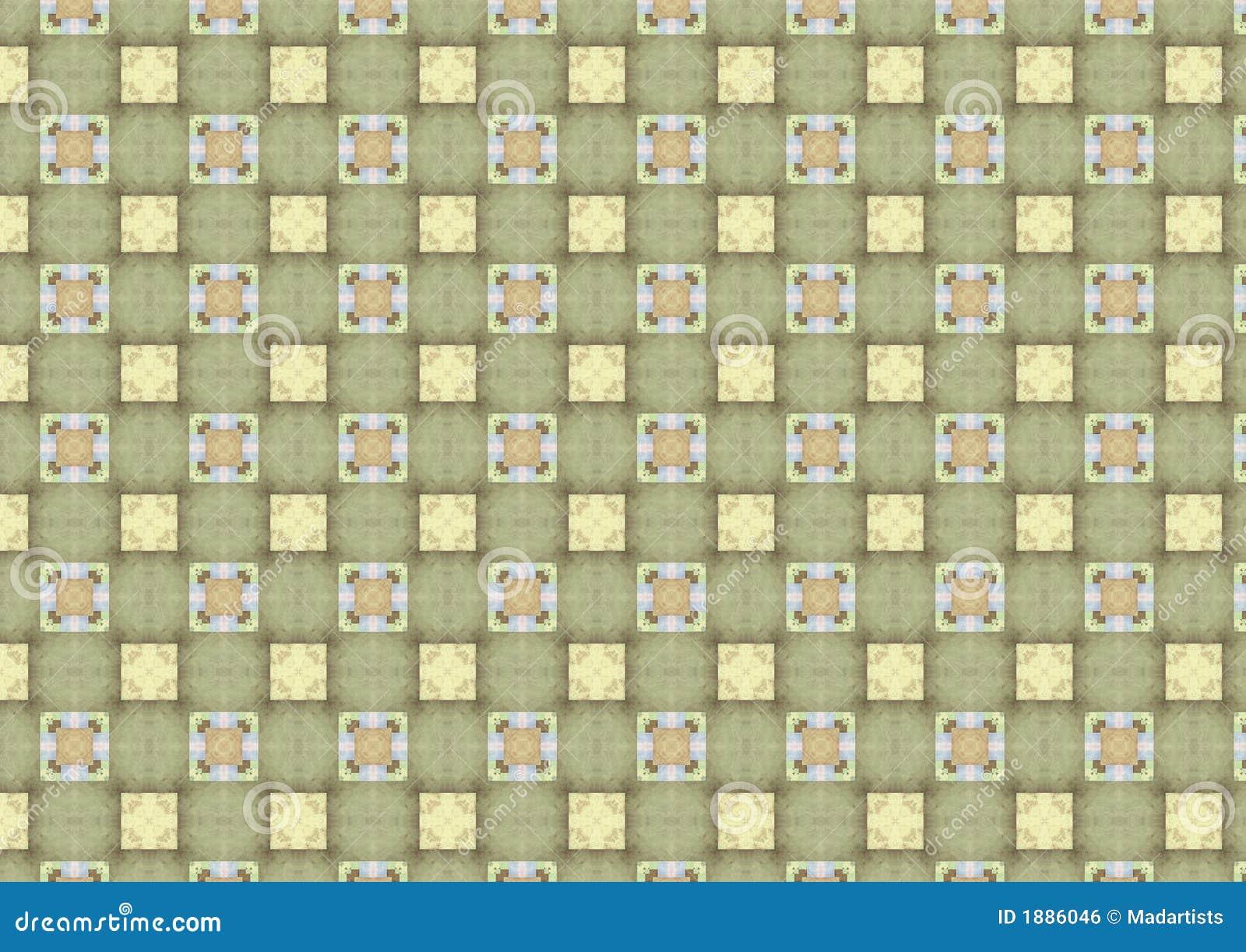 Green tiles kitchen texture - Royalty Free Stock Photo