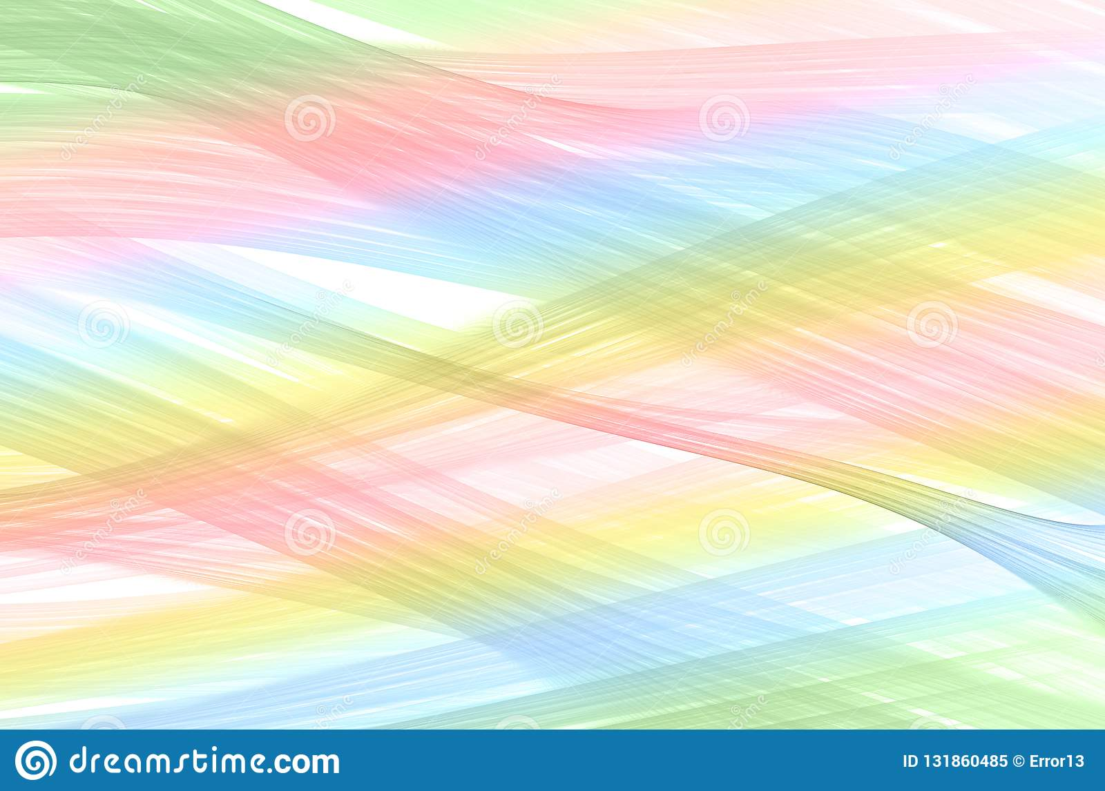 Light Color Texture In Pastel Colors Stock Illustration
