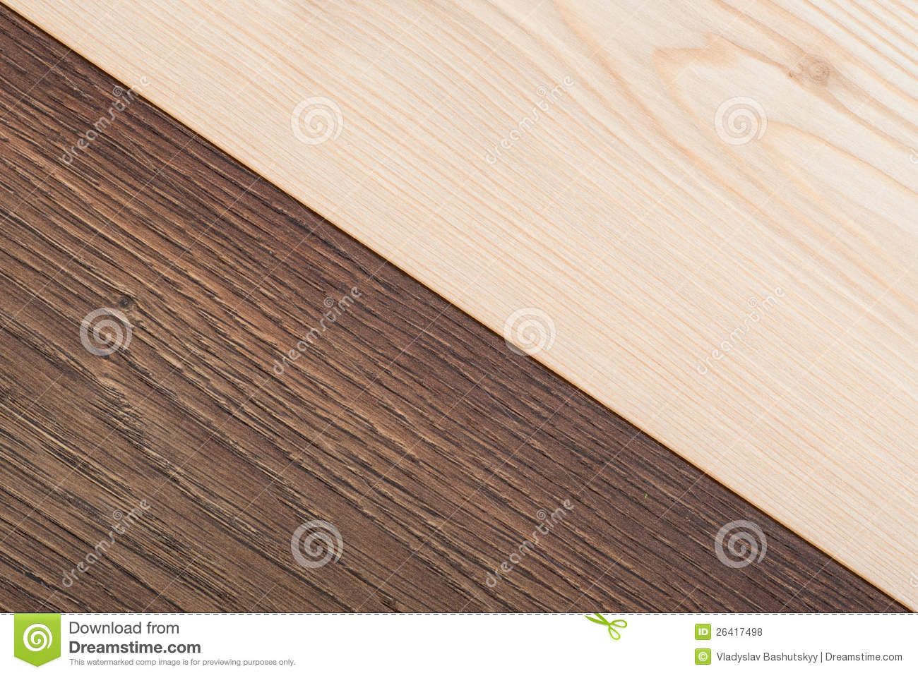 Light And Dark Wood Texture For Your Background Stock