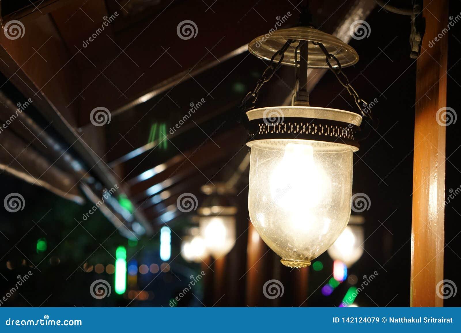 The light at Thai house