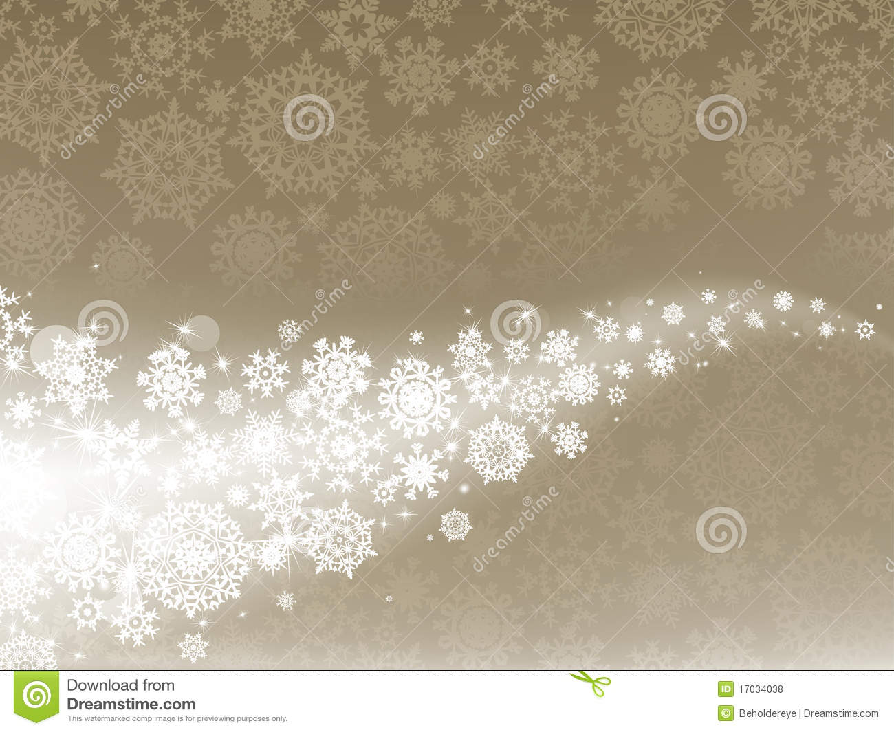 Elegant Christmas Background With Snowflakes Stock Vector: Light Elegant Abstract Christmas Background. EPS 8 Stock