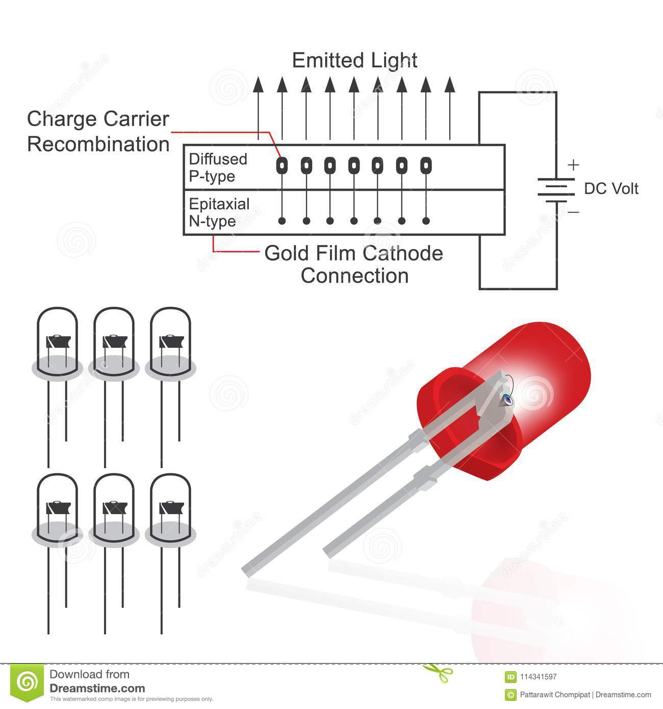 Light Emitting Diode Circuit Diagram Affordable Pictures Led Relaycontrol Controlcircuit Seekic Best Structure With