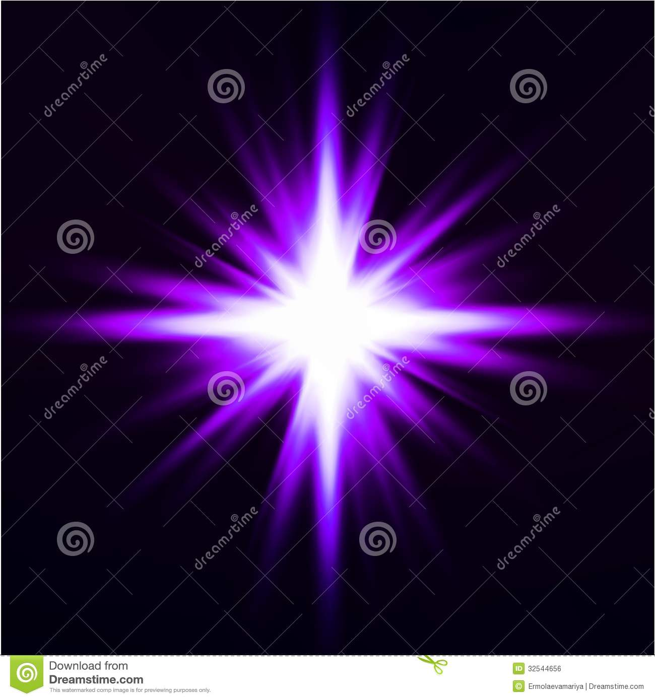 light flare purple effect vector royalty free stock image