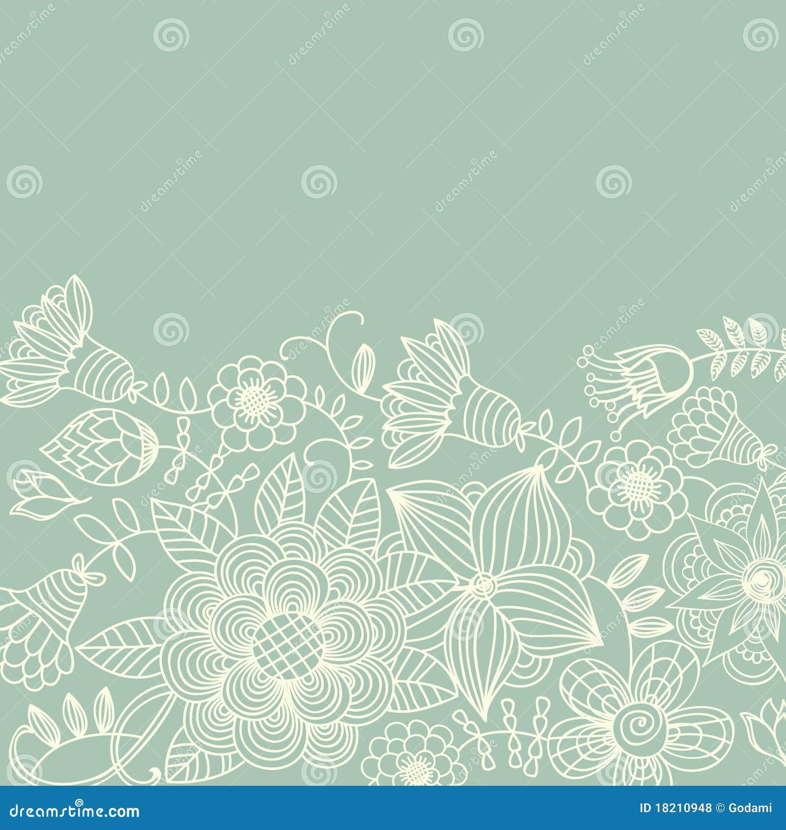 Floral vintage background - Background Floral Vintage