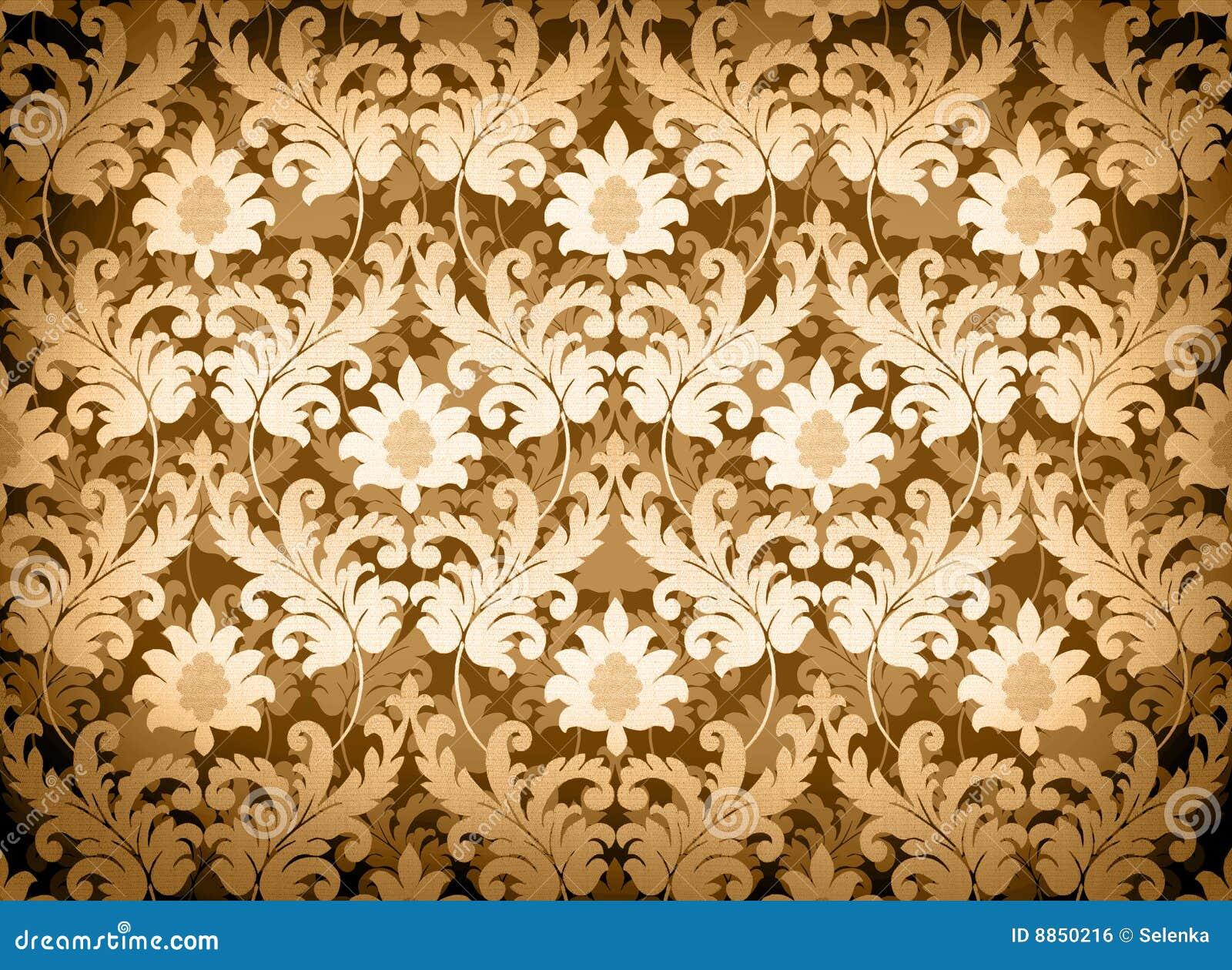 Light Gold Renaissance Background Royalty Free Stock Image