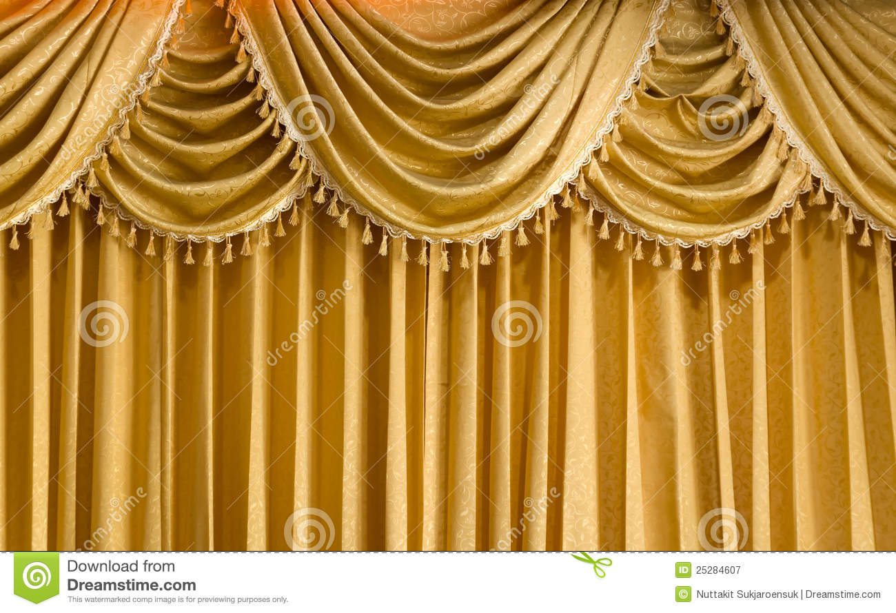 Window blinds kah huat textile co - Light Gold Vertical Curtain Royalty Free Stock Photography Image