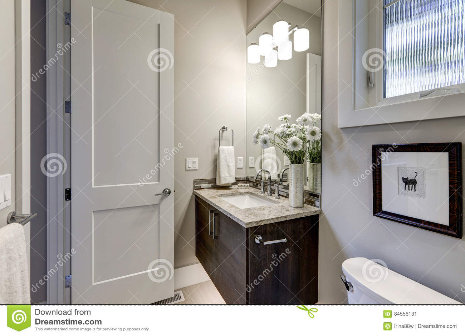 bathroom granite home interior