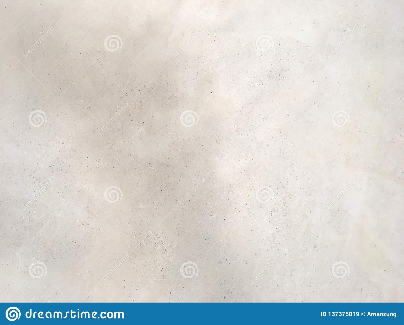 Light gray concrete wall texture gradient color shade. Rough pattern with stain spots background.