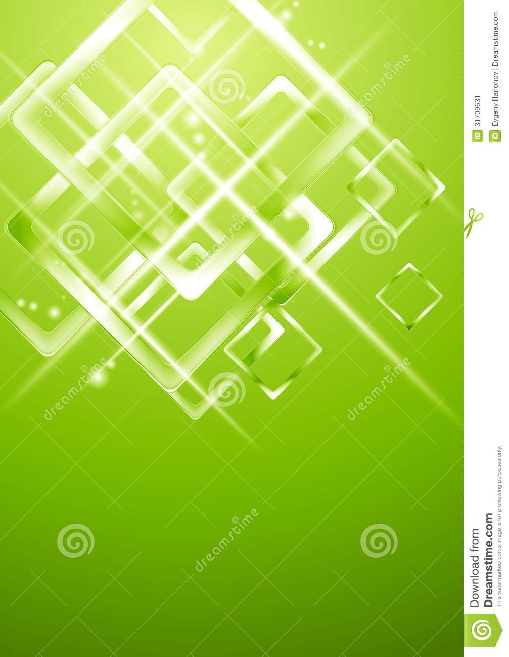 Light green geometrical vector design stock image image Green plans