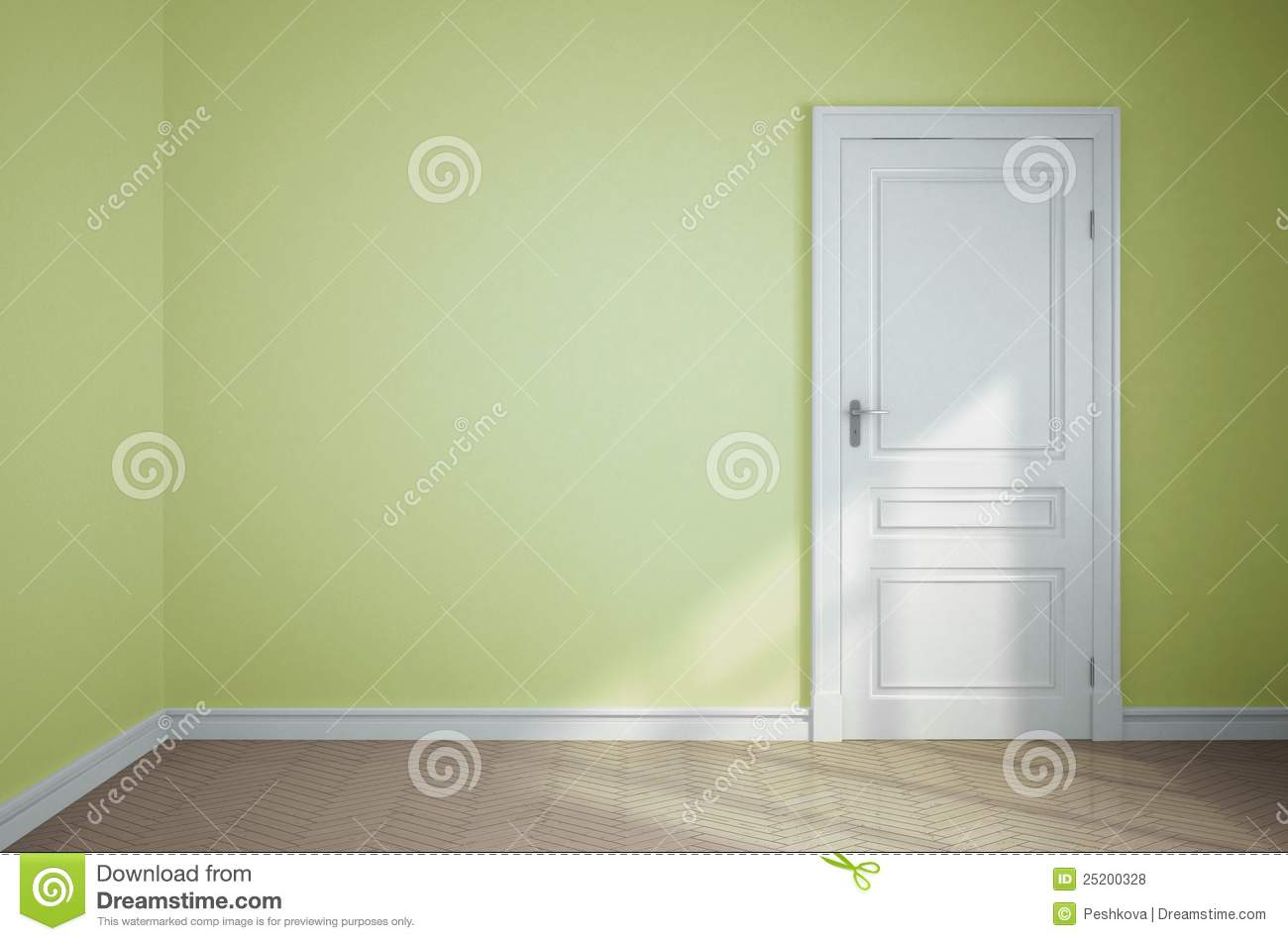 Light Green Room Royalty Free Stock Photos Image 25200328