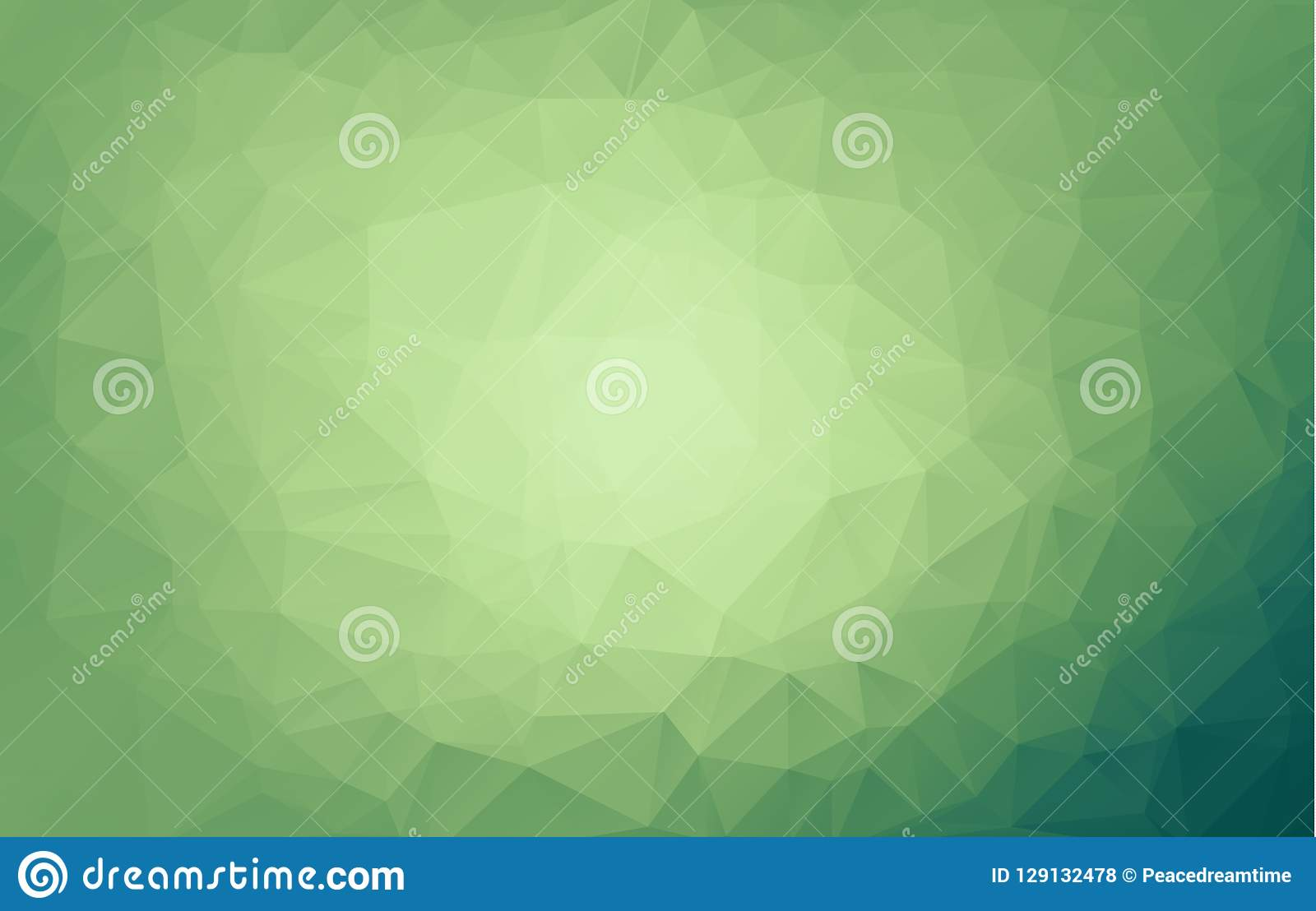 Light Green vector blurry triangle background. An elegant bright illustration with gradient. A completely new design for your busi