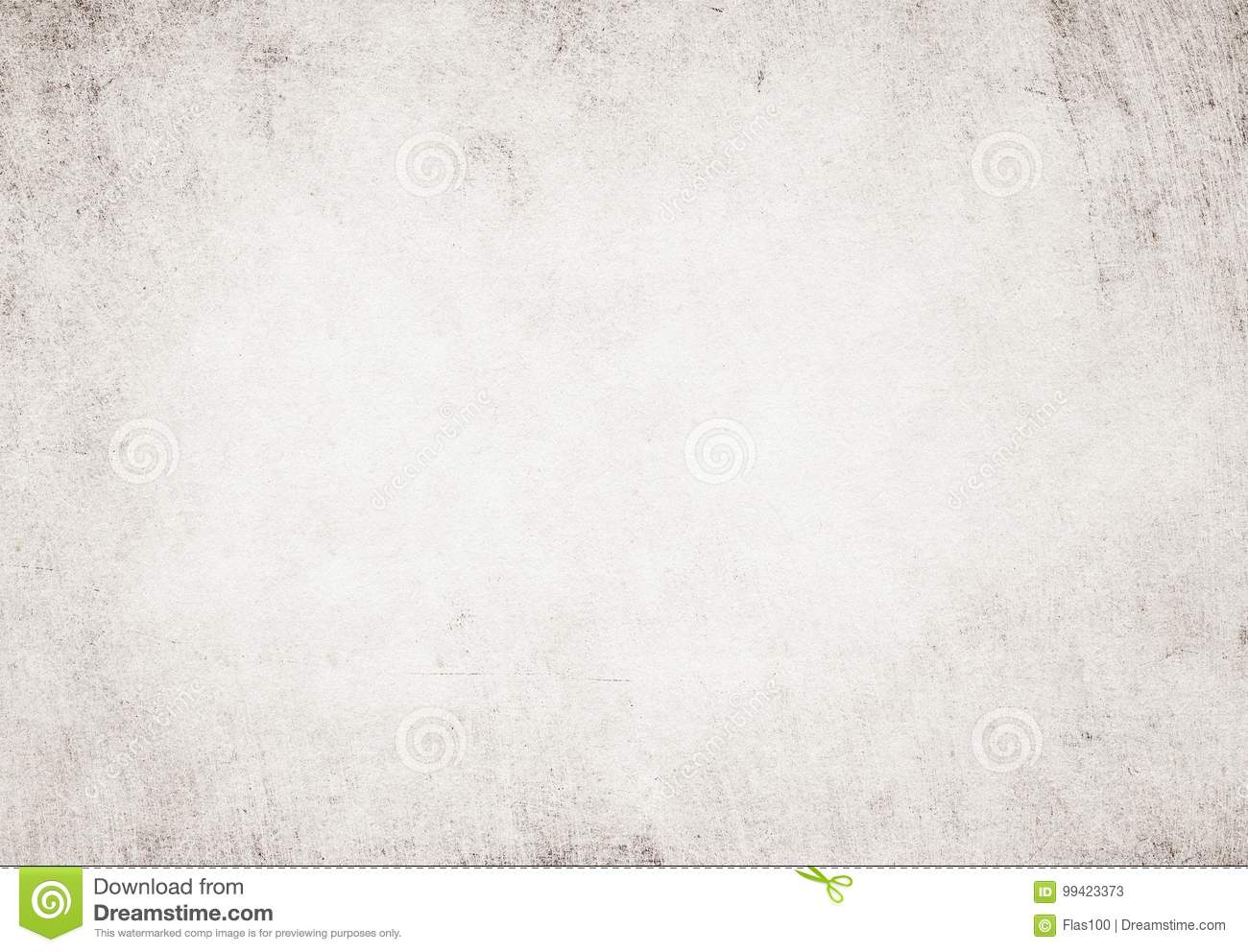 light grunge white recycled parchment paper texture stock image