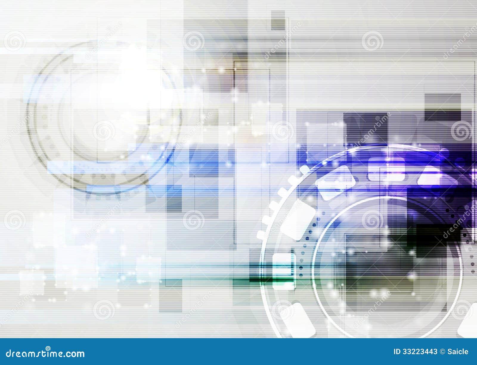 Light hi-tech vector card stock vector. Illustration of gear
