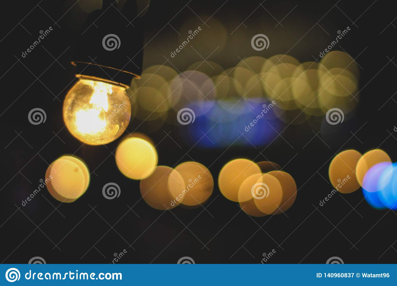 A Spark Of Light In The Dark Stock Image - Image of light