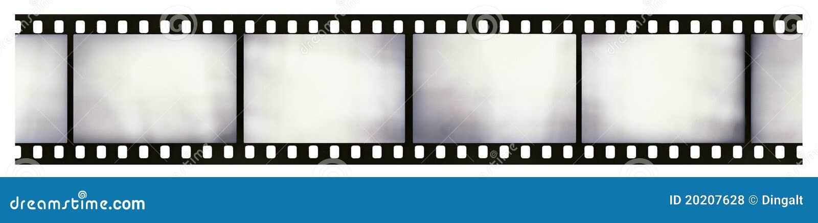 Light-leaked film strip