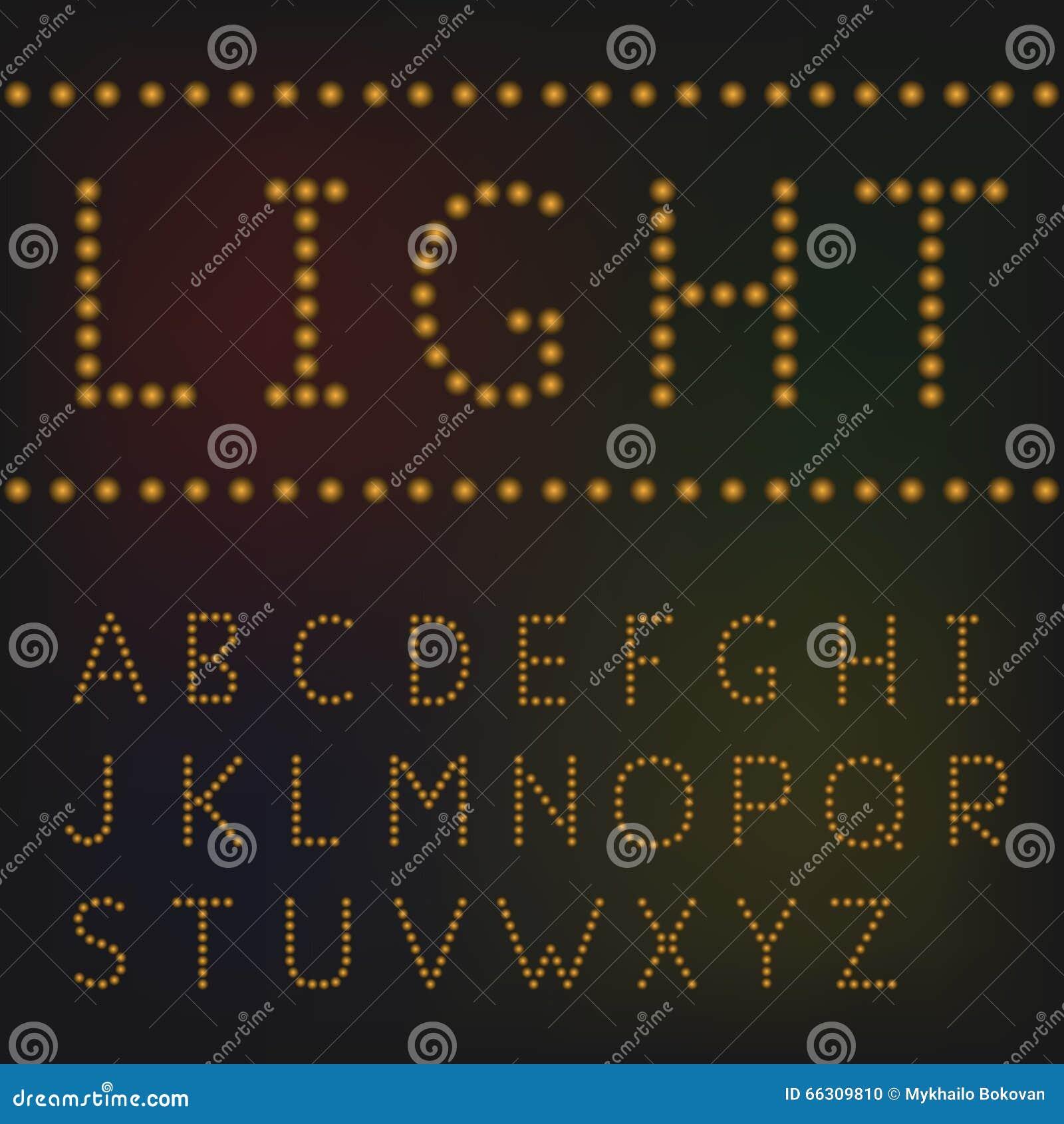 Fluorescent Shop Light Bulbs Illuminated Stock Photo