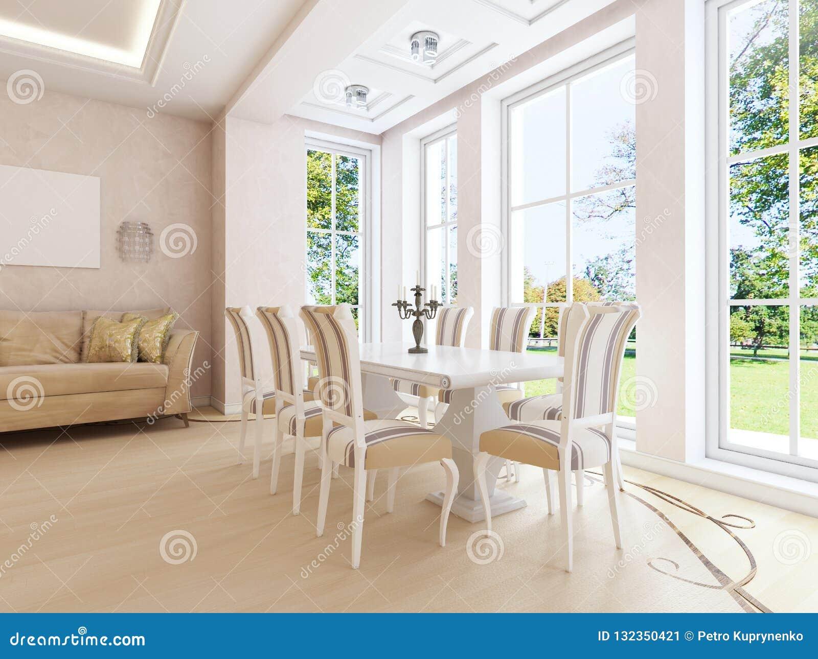 light living room light classical style art deco elements dining table window light living room light image
